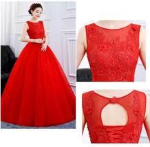 Designer Floor Length Princess High Waist Plus Sizes Bridal Wedding Gown image 6