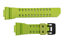 Genuine CASIO G-SHOCK G'Mix Watch Band Strap GBA-400-3B Green Rubber  - $33.95