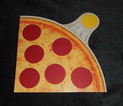 1 VINTAGE 1987 PIZZA PARTY PARKER BROTHERS GAME PART PIECE YELLOW SLICE ... - $4.75