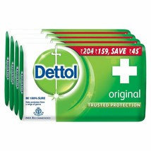 Dettol Original Soap, 125 gm (Pack of 4) Free shipping worldwide - $26.67