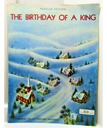 The Birthday of a King   Sheet Music - $3.50