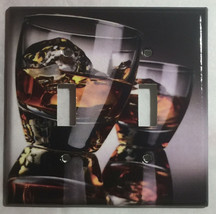 Whiskey on Rock Light Switch Duplex Outlet Cover Plate & more Home decor image 3