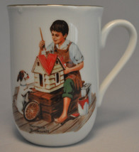 1982 Norman Rockwell Museum Collectible Mug Cup - A Doll House For Sis -... - $6.97