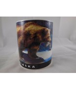 Souvenir Alaska Grizzly Bear Salmon Collector Mug Arctic Circle - $6.90
