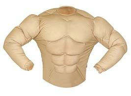 Super Muscle Shirt Costume Small For Super Hero Fancy Dress #eaj - $30.39