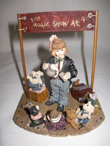 Yesterdays Child Figurine The Magic Show at 4 Limited Edition Boyd's Col... - $12.95