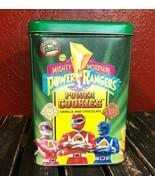 Vintage Power Rangers Tin Can 1994 Frookie Cookie Jar Collectible Memora... - $24.74
