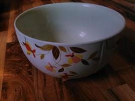 old vintage Autumn leaf bowl superior Hall Mary Dunbar China kitchen 4 3... - $24.99