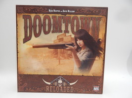 Doomtown Reloaded Board Game Base Set by AEG LOOKS COMPLETE - $14.84