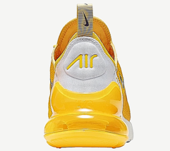 "Nike Air Max 270 Running Shoes for Men ""Yellow / White"" image 3"