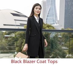 Women's Fashion Career Apparel High Quality 3 Piece Formal Business Pant Suits image 9