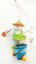 Kurt Adler Beach Snowman Ornament 3.5 inches (Snowman) - $17.33