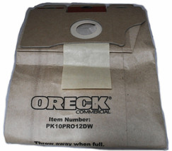 Oreck Commercial Upright Pro 12 Vacuum Bags, 10 Per Pack - $43.20