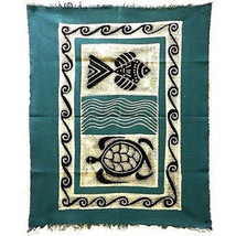 Fair Trade Handcrafted Cotton Fabric Batiked Wa... - $47.00