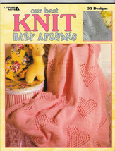 Leisure Arts Our Best Knit Baby Afghans Vol.1 33 Designs Pattern Book LA... - $14.67