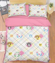 3D Dolls Pattern Bed Pillowcases Quilt Duvet Cover Set Single Queen King Size AU - $64.32+