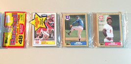 1987 Topps Unopened Rack Pack - Ozzie Smith on Front  - 48 Cards per pack - $7.00