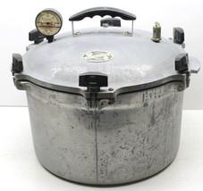 All American #7 Pressure Cooker Canner 15.5 Quart+Inside Rack Made Manit... - $103.31