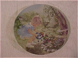 STOP AND SMELL THE ROSES limited edition collector plates from the series SEEMS  - $33.17