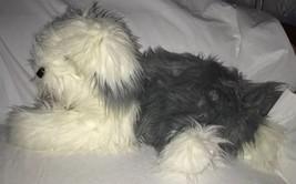 """F.A.O. Schwarz 5th Avenue Old English Sheepdog Plush Stuffed Dog 22"""" Gra... - $39.59"""