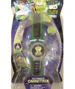 Rare Ben 10 Bandai Alien Force Ultimate Omnitrix Sound Light Effects - $97.02