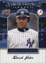 2008 Upper Deck Yankee Stadium Legacy Collection Box Set #84 Derek Jeter - $2.95