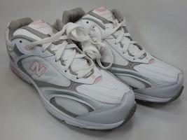 New Balance 558 Size US 12 D WIDE EU 44 Women's Walking Shoes White Pink WW558WP