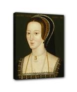 Anne Boleyn Canvas Art Print 11 by 14 Inches Over Wood Frame - $37.99