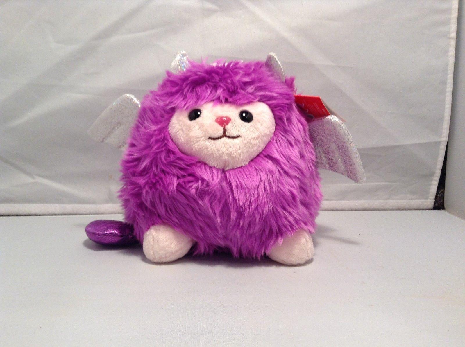 NEW Aurora Purple Fuzzawuzz Plush Toy