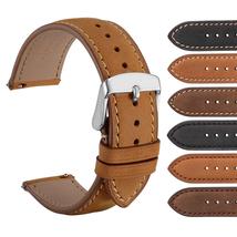 WOCCI Vintage Watch Band For Men Women Wristwatches Comfy Crazy Horse Le... - $22.99