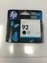 92 black HP ink DeskJet 5440 PhotoSmart 7850 C3180 C3150 C3140 OfficeJet... - $25.69