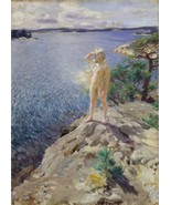Anders Zorn - In the Skerries - Google Art Project - 24x32 inch Canvas W... - $51.99