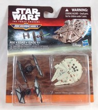 Micro Machines Star Wars The Force Awakens First Order Tie Fighters & Millennium - $6.99
