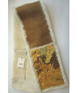 UGG® Australia 4 Panel Gold Sequin Shearling Chestnut UGG Scarf - $192.31