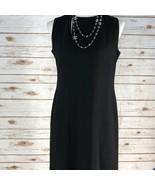 Women's CHANEL Chanel Little Black Sheath Dress 100% Wool 98P Size 40 EUC - $578.55