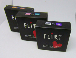 FLIRT MOLTEN CHIC Metallic Eyeshadow Duo 0.13oz./3.7g Choose Shade - $11.95