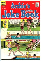 Archie's Joke Book #140 1969-swimsuit cover-Betty-Veronica-VF - $49.66