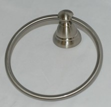 Moen Y2686BN Banbury Collection Brushed Nickel Towel Ring Spot Resist image 2