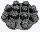 Nordic Ware Sweetheart Rose Bundt Muffin Pan 12 Roses Non Stick Valentines Day