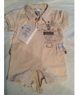 Max And Tilly Newborn 1 Piece Nwt Little Detective Max - $4.94