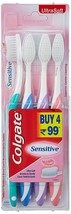 8 Colgate Sensitive Toothbrush Toothbrushes ultrasoft bristles 2 x Pack of 4= 8  - $9.40