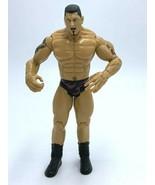 "WWE Batista Action Figure Black Flame Trunks 2003 Jakks Pacific 7"" - $9.99"