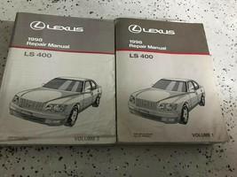 1998 Lexus LS400 LS 400 Service Shop Repair Workshop Manual Set OEM Worn - $128.65