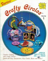 Crafty Circle Vol 1 Darice 30+ Projects in Plastic Canvas Key Chains Box... - $4.99