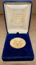 Ronald Reagan Medal of Merit Republican Presidential Task Force Medallio... - $4.89