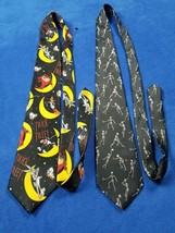 Halloween  lot looney tunes Men's Necktie Tie Twick Or Tweet  anatomical... - $26.72