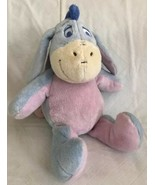 "KIDS PREFERRED Stuffed Plush EEYORE Crinkle Ears Rattle 12"" Disney Baby Toy - $12.86"