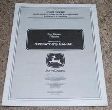 John Deere Rear Bagger 7 Bushel Operators Manual OMM154285 I8 Commercial - $14.80