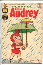 PLAYFUL LITTLE AUDREY #33-1961-MELVIN-UMBRELLA COVER-good - $25.22