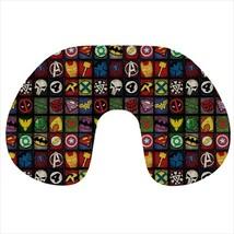 Travel neck pillow inflatable deadpool punisher avengers thor green lantern - $20.00